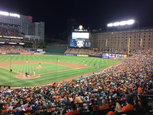 Royal vs. Orioles at Baltimore
