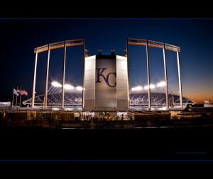 Kauffman Stadium home of the Kansas City Royals. September 4, 2010. Royals vs. Tigers