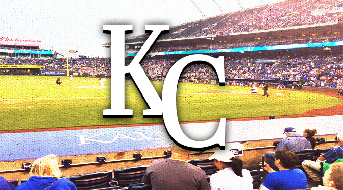 Royals stadium with KC