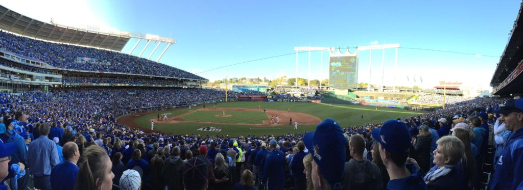 Kauffman Stadium- Home of the KC Royals