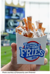 Kauffman Stadium's Funnel Fries Picture