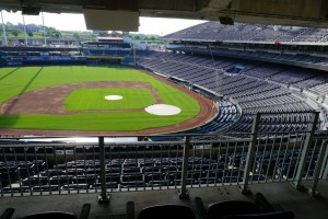 Home plate from Signature Suite